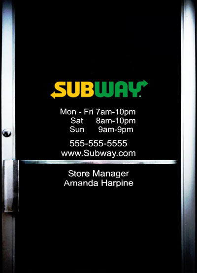 Subway Door Hours & Info